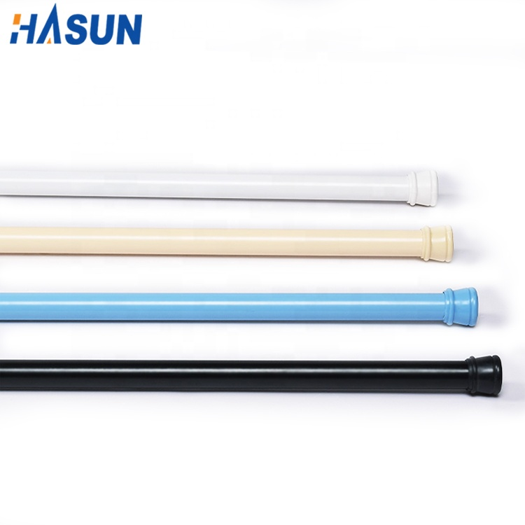 Online shopping low carbon steel portable shower curtain rod