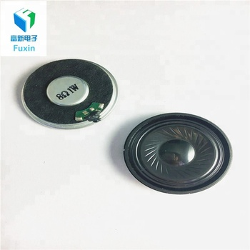 40mm 8 ohm 1W loud speaker driver unit small round speaker for kinds of voice device