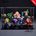 New Hot Sell 7pcs Set DOTA 2 Game Figure Kunkka Lina Pudge Queen Tidehunter CM FV
