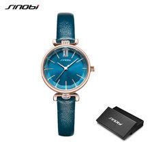 Женские часы SINOBI, модные дизайнерские кварцевые часы Geneva с бриллиантами золотого цвета, подарки для женщин(China)