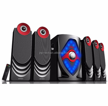 Active Multimedia 8 inch woofer 5.1 home theater system speaker