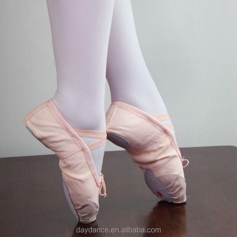 Girls Women Soft Sole Ballet Slippers Dance Shoes