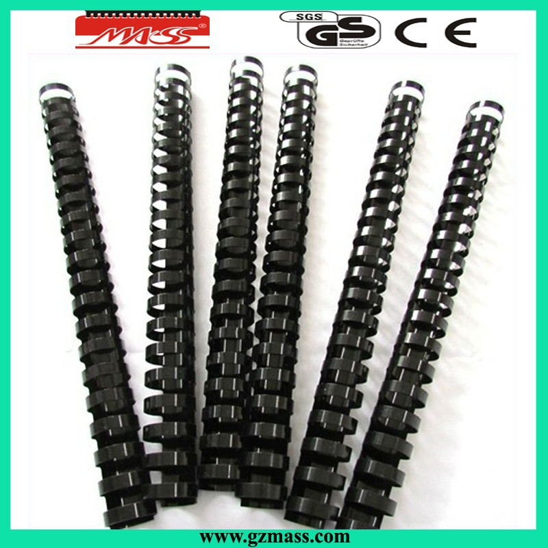 Colorful Plastic Spiral Comb Binding Spines