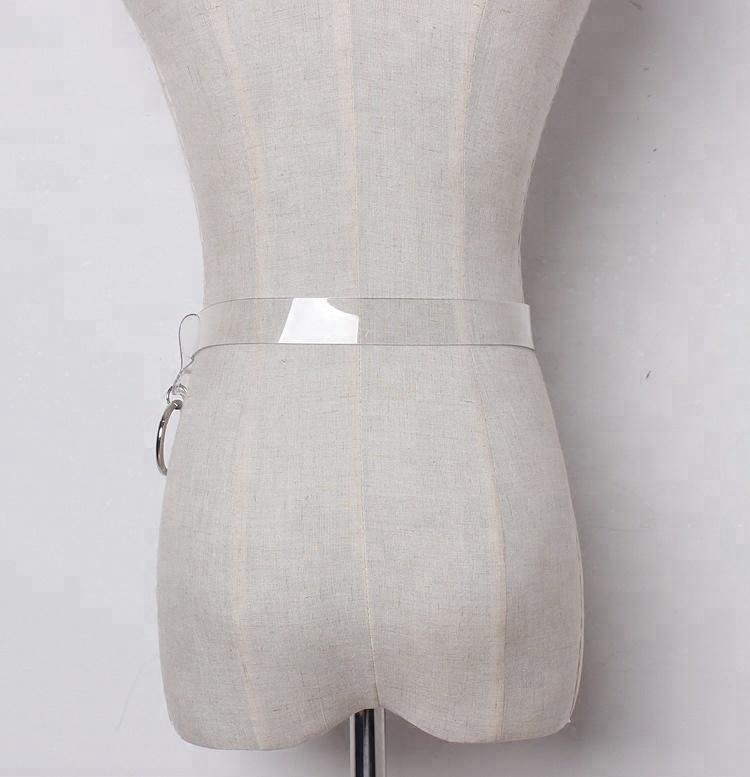 B14120A Китай, оптовая продажа, женские прозрачные ремни из ПВХ