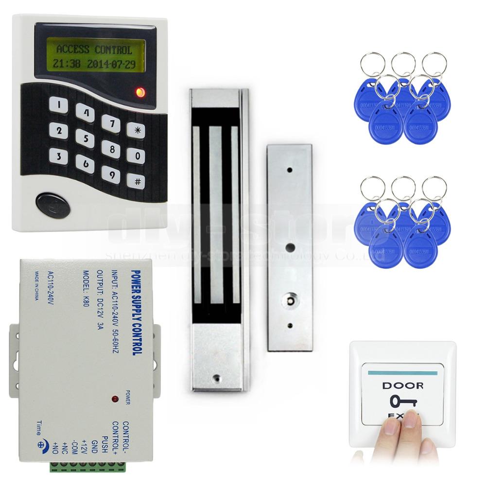 DIY RFID ID Card Keypad Door Access Control System Kit ...