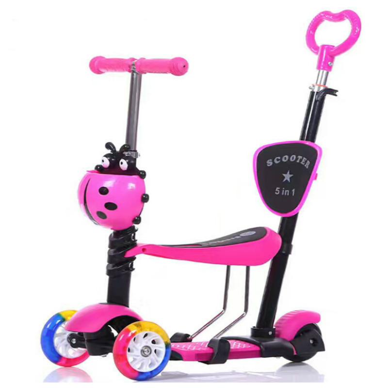 Китайская Фабрика дешевая Детский самокат с сиденьем/оптовая продажа 3 колеса скутер, способный преодолевать Броды для детей/kick скутеры ножной скутер для детей на продажу