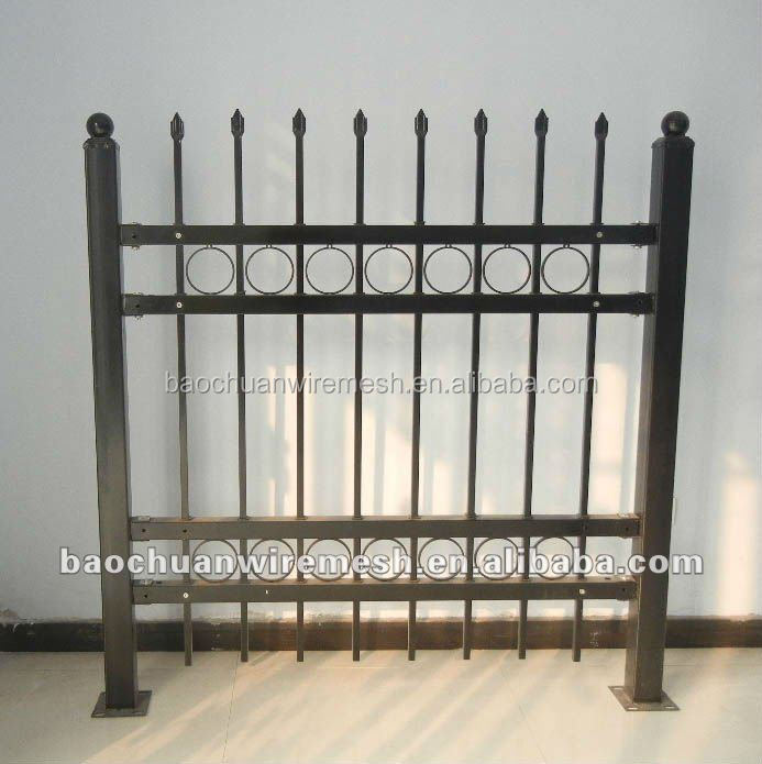 Desain Grill Pintu Keamanan Pagar Besi Tempa Buy Used Wrought Iron Fencing Gate Grill Fence Design White Wrought Iron Fence Product On Alibaba Com