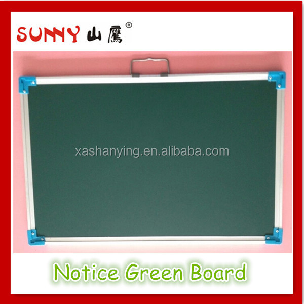 Glass fiber reinforced plastics blackboard, school green board
