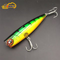 Wholesales 10 5cm 24g pc Fishing Lure Popper Fishing Bait Jigging Lures Artificial Baits Good Quality