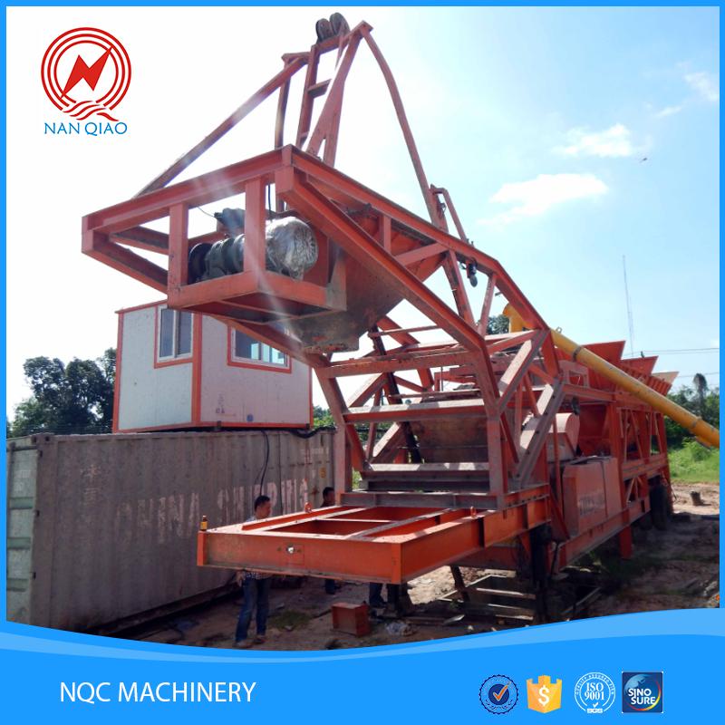 Different models mini concrete batching plant for sale