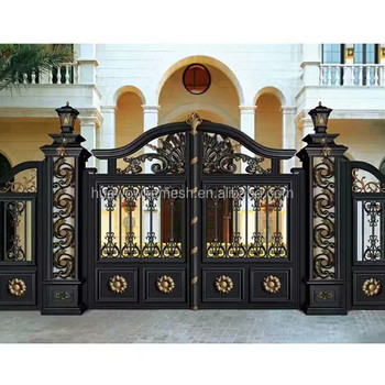 Aluminum fence gate design
