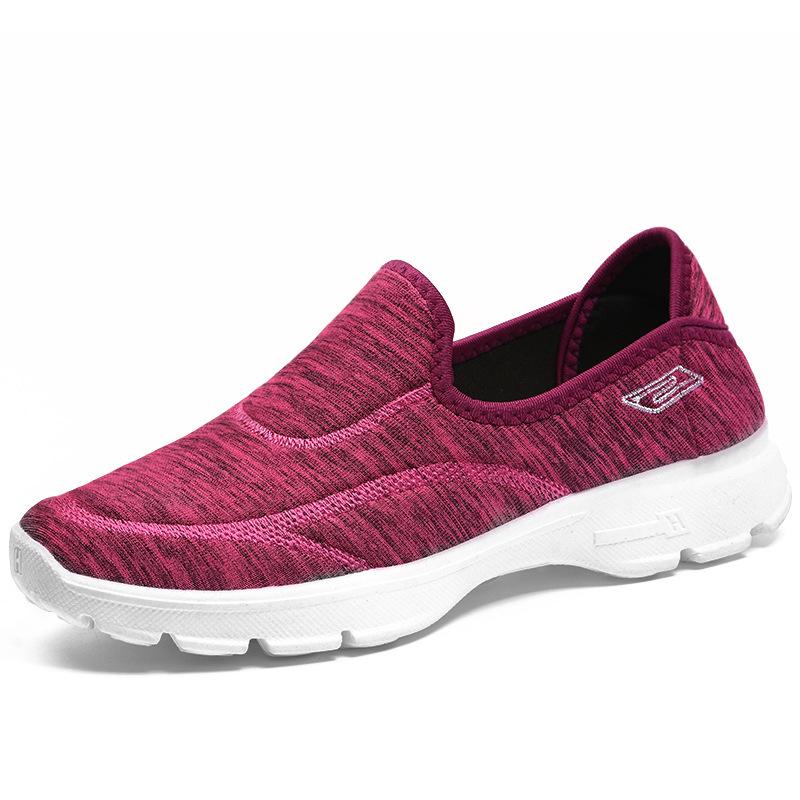 Кроссовки PDEP женские для бега и ходьбы, популярная модная повседневная спортивная обувь без шнуровки для тренировок, большие размеры 36-42