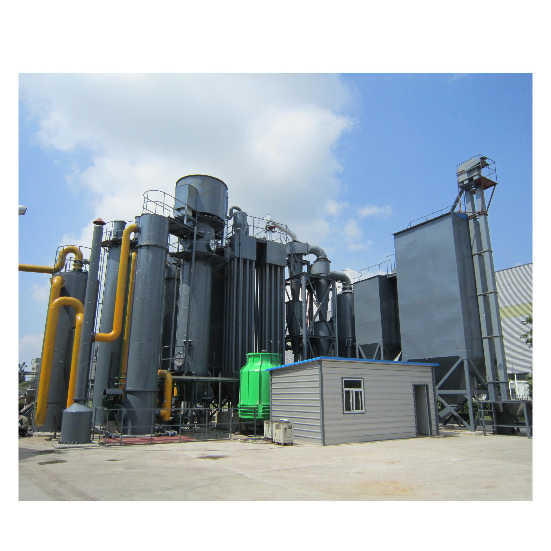 Торфяное оборудование для газификации электростанции