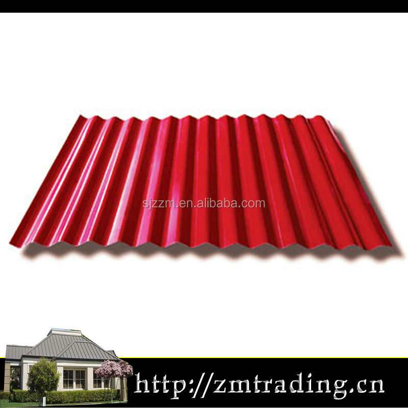 Iron Ibr Anti Corrosion Corrugated Roof Sheet Metal Roof