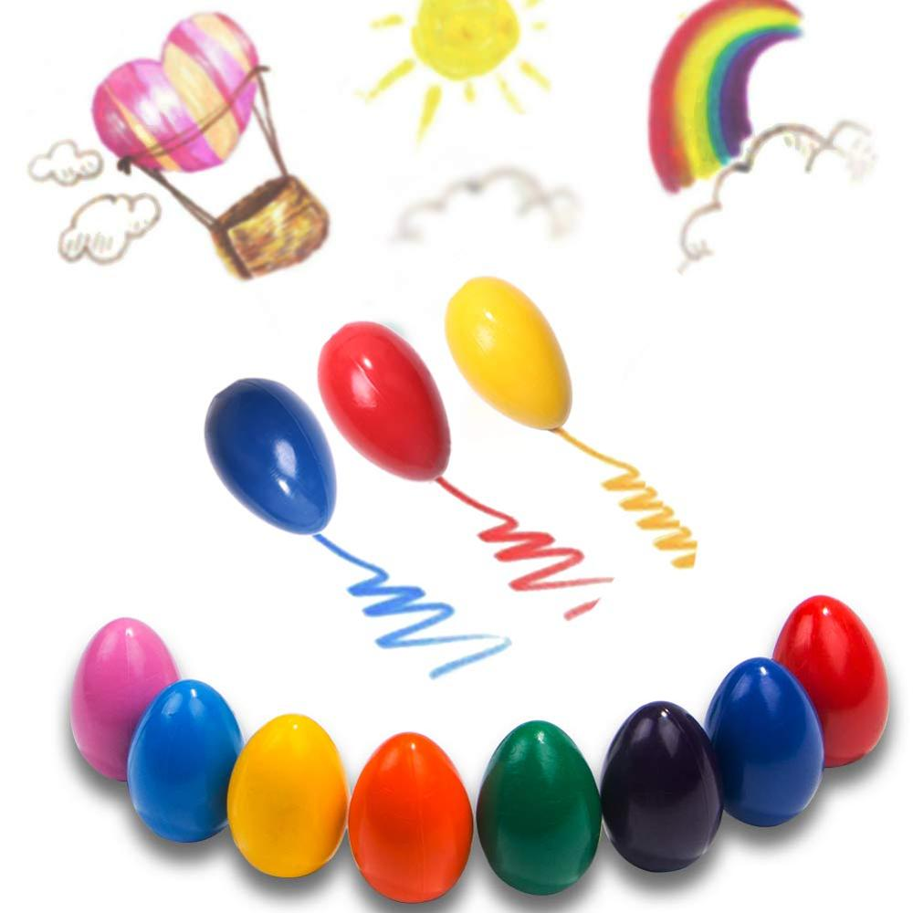 Baby Egg Crayons,Kids washable crayons,paint crayons for painting