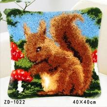 Набор ковриков с защелкой, наволочка Goblen Kitleri Canvas Kussen Knooppakket Kleed La Casa De Papel, чехол для подушки с вышивкой(Китай)