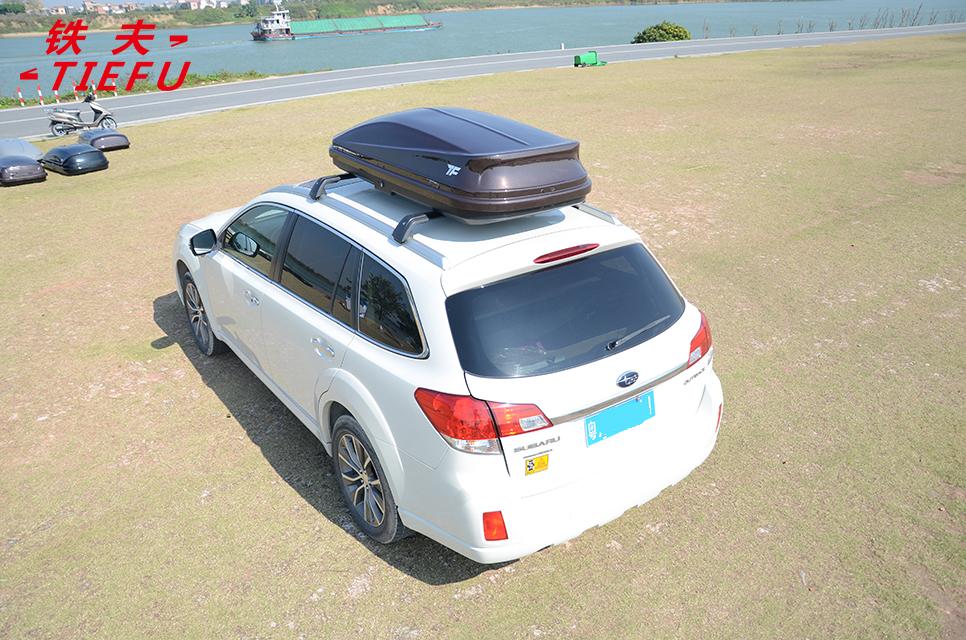 Оптовая продажа с фабрики, блестящий серый багажный ящик на крышу автомобиля, багажник на крышу автомобиля