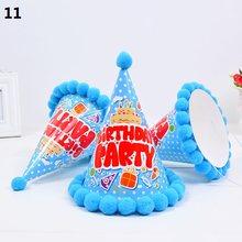 Милые детские шляпы для взрослых, плюшевые Бальные шляпы, вечерние праздничные наряды, кепка, домашний декор, день рождения(Китай)