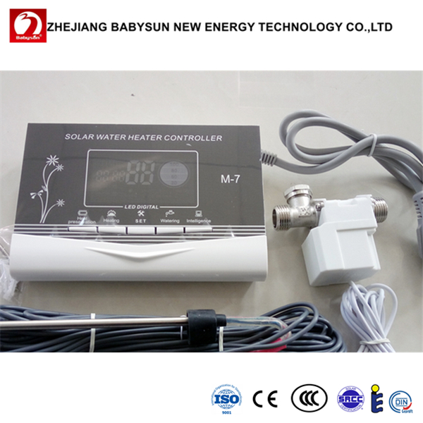 Non-pressurized solar water heater controller m7 with high quality