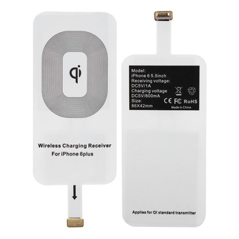 Wholesale Universal Compatible Coil Rapid qi wireless charger charging receiver for iphone 5 5S 7 6 6 plus