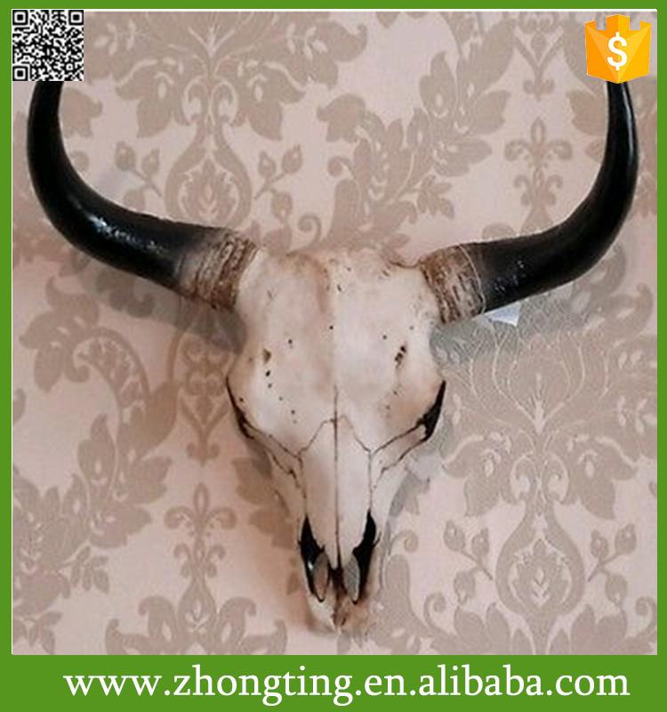 statuettedeco statuette crâne de bison géant mural INCONNU