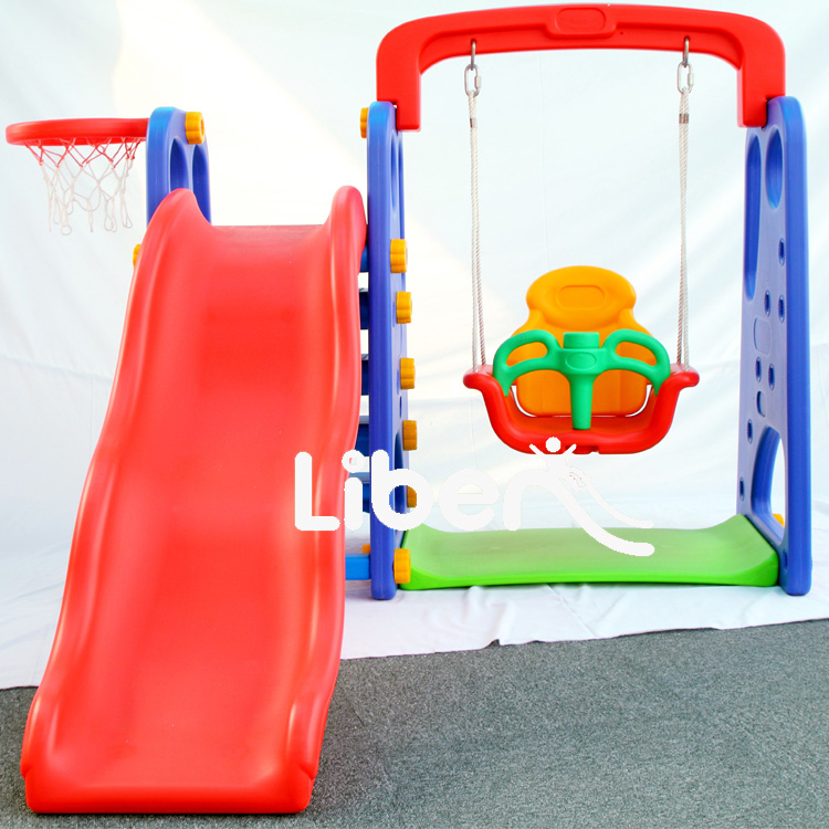Liben Play House Children Plastic Slides And Swing For Sale