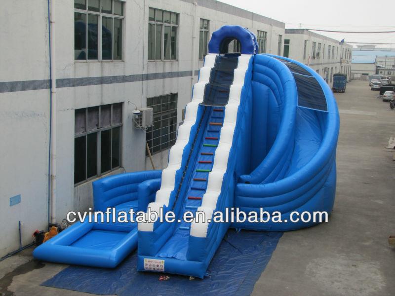 riesigen spirale aufblasbare rutsche pool infltable. Black Bedroom Furniture Sets. Home Design Ideas