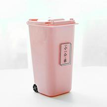 Милый розовый контейнер для ручек для девочек, настольное ведро, пластиковый держатель для ручек для девочек, органайзер для студентов, сто...(Китай)