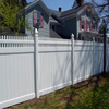 Picket-Top Privacy Fence