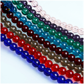 DIY Round Crystal Bead High Grade Wholesale Red Beads For Jewelry Making