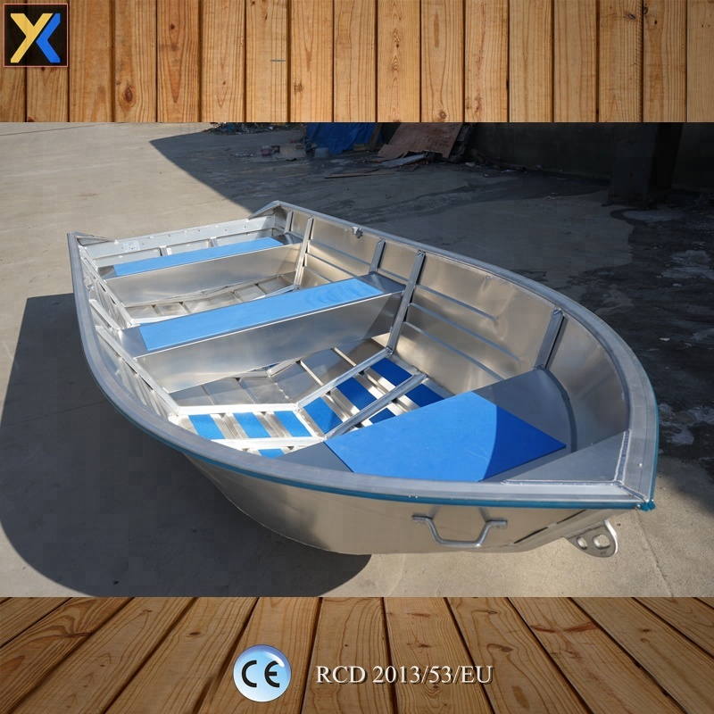 12ft all-welded deep V-shaped bottom aluminum boat, View small