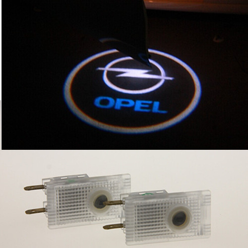 buy led door warning light for opel logo projector astra h. Black Bedroom Furniture Sets. Home Design Ideas