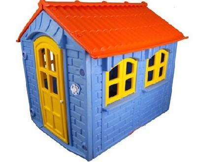 blue playhouse, kids playhouse