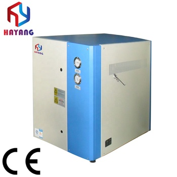 15HP air cooled water chiller unit price for injection molding machine