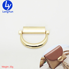 China supplier New design metal bag fitting d ring buckles decorative buckle tassel metal fittings