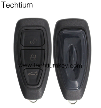 FCC ID: KR55WK48801 good price OEM smart key card 3 buttons 433Mhz chip 4D63 remote key for Ford Fiesta Focus ST Titanium