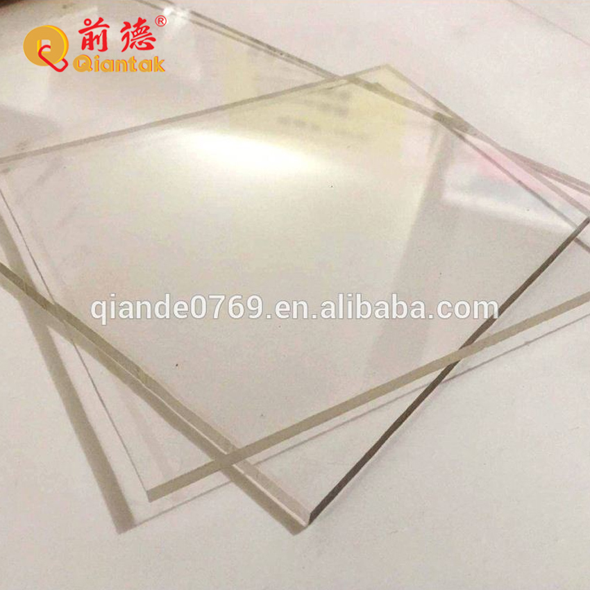 Прозрачная акриловая панель/лист из плексигласа, размер на заказ