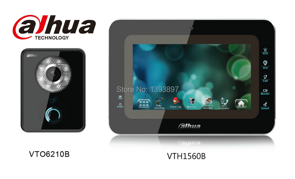 Dahua Vto6210b Amp Vth1560b Kit Ip Audio Amp Video Door Phone