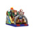 New design outdoor theme inflatable slides for fire escape inflatable stair slide toys