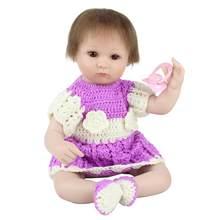 Кукла новорожденная NPK, мягкая силиконовая кукла Reborn, подарок на Рождество(Китай)