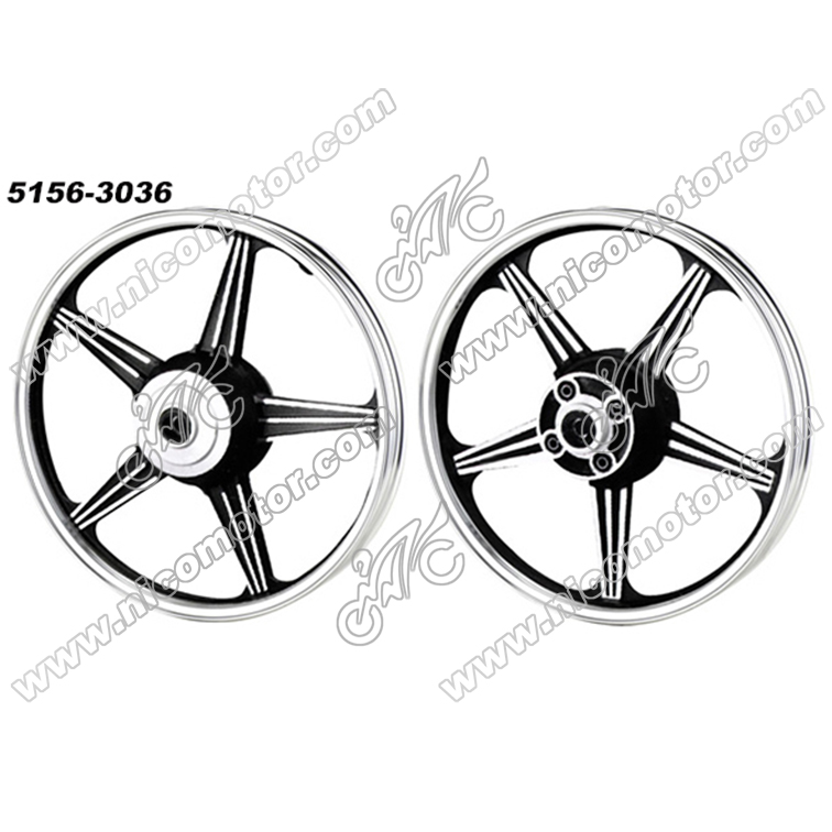 EN125 1.6x18 1.85x18 motorcycle aluminum alloy wheel rims