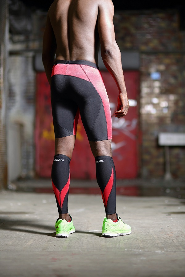One of the recent big fads in the running world is compression wear. Whether it's compression shorts for sprinters or compression socks for marathoners, it's hard to attend an athletic event without seeing somebody decked out in skin-tight gear.