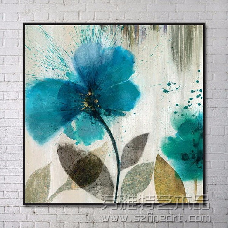 The Newest Design Simple Flower Canvas Paintings Buy Simple