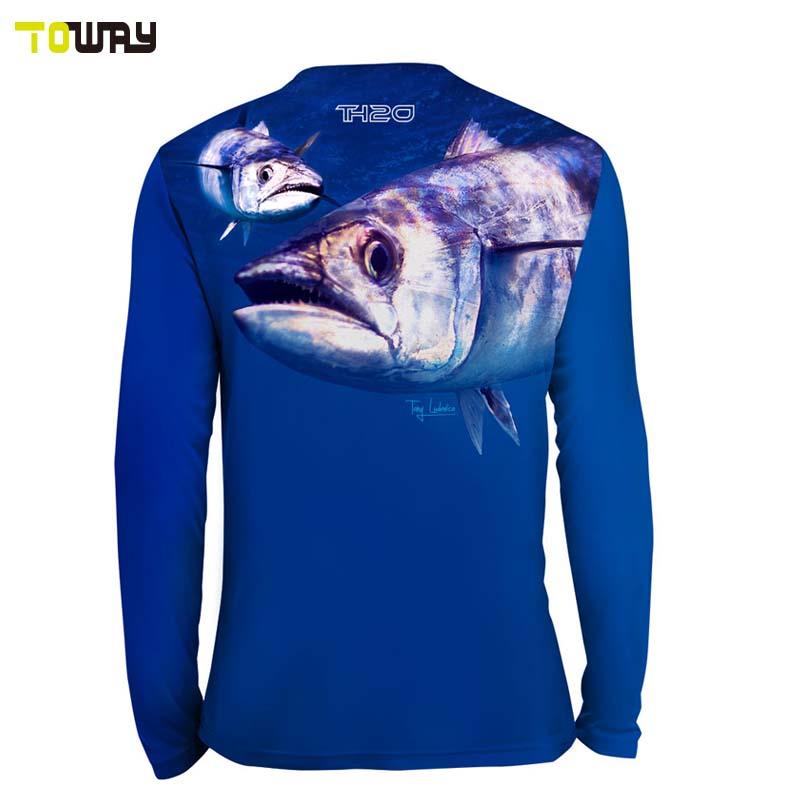 plain polyester wholesale tournament fishing shirts