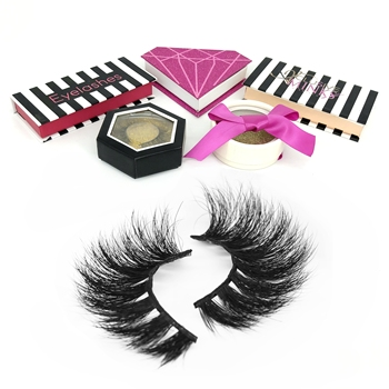 new style false lashes qingdao mink eyelash vendor costom creat your own brand 3d mink eyelashes with customize box
