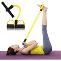 2016 Hot Sale Fitness Equipment Foot Resistance Bands Rally Pull Rope Elastic Ropes Lose Weight Reduce