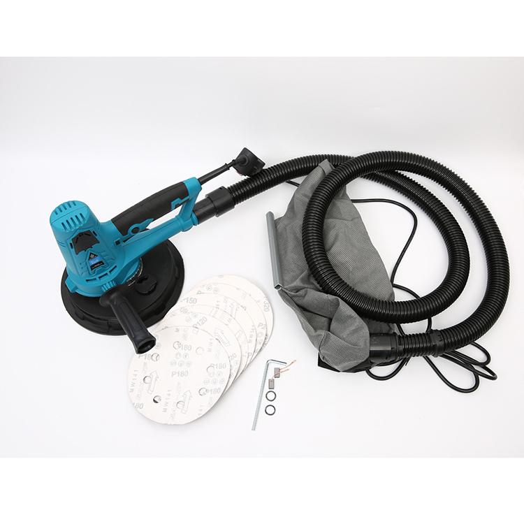Электрический самовсасывающий беспылевая сумка для шпаклевки ложки с длинной ручкой, шлифовальный станок для гипсокартона 50/60hz 900-2300r/мин ME-225E 127*33*18 см/шт. 4.9kgs