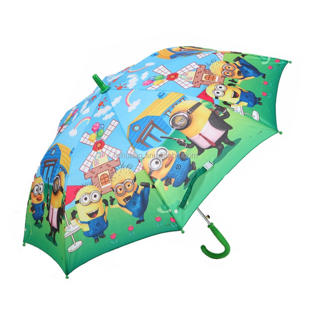 Panda Personalised Kids Umbrella Name in 2 colour print