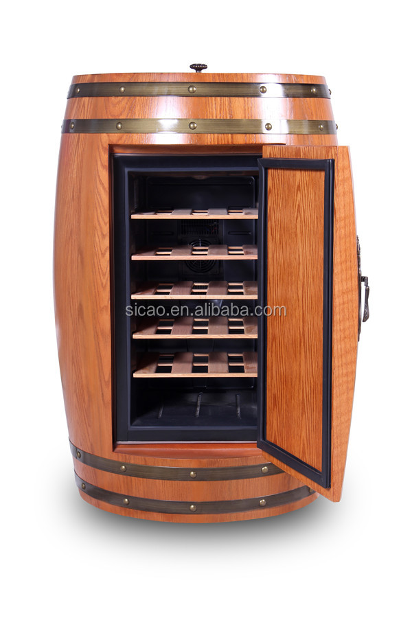 Wine Barrel Furniture Wine Beer Barrel Fridge Wood
