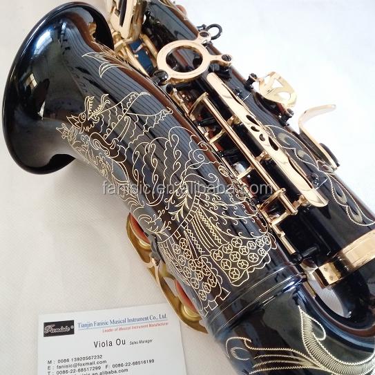 Саксофон альт С индивидуальной ручной гравировкой мотив